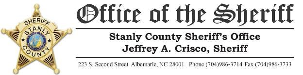 Stanly County Sheriff's Office P2C